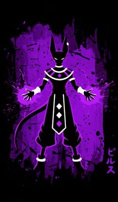 Beerus i like that name so much better than bills when - Dbz fantasy anime ...