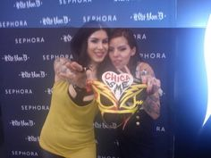 Me with my lovely Kat Von D