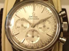 f2705d35298 Brilliant Vintage Omega Seamaster Chronograph In Stainless Steel Circa  1960s Omega Seamaster Chronograph