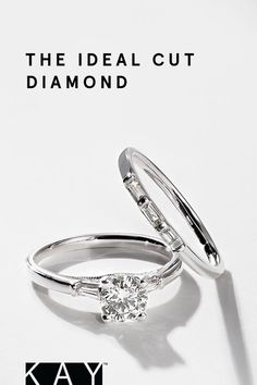 21a48c6d5 For the perfect proposal, say YES to the Ideal Cut Diamond from Tolkowsky  at KAY