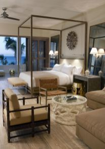 88 simple tropical caribbean bedroom decor ideas (75)