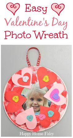 So cute and simple! #valentine'sdaycrafts