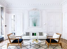 "House tour: a New York family's Parisian holiday home: The apartment also fits another of their prerequisites — to be quintessentially French. ""When you come here on vacation, you want to walk in the door and immediately say to yourself, 'This is France,' "" she asserts. It is located in a stately 1830s building that for decades belonged entirely to descendants of the French poet Paul Valéry, and has all of those highly sought-after Parisian architectural details: marble fireplaces, panelled"