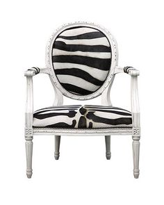 Loving the zebra print, maybe a new chair for Shelby's room