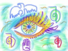 Peace. by recording artist Chakuna Machi Asa! #art http://www.infinitynaturals.com/moon-eye-ancient-healing-sounds/