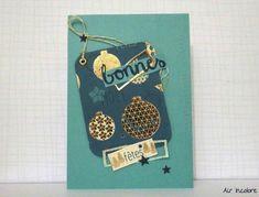 Christmas card. Air incolore