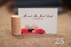 25 {Side Slit} Wine Cork Place Card Holder by craftedwithlove2737 on Etsy https://www.etsy.com/listing/189288442/25-side-slit-wine-cork-place-card-holder