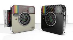 Socialmatic's new camera creates instant printouts of your Instagram pics.