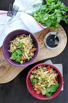 herbed asian quinoa salad recipe (gluten-free) | via thepigandquill.com