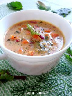 Zupa z botwinką i kaszą jaglaną   Oryginalny smak