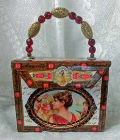 Artfully Musing: CIGAR BOX BOOK PURSE TUTORIAL