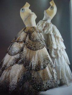 Beautiful haute couture dresses