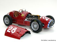 "Diecast Car Forums - 1952 Ferrari 500 F2 Short Nose #28 ""Nino"" Farina-GP Switzerland Pole – Diecast Zone"