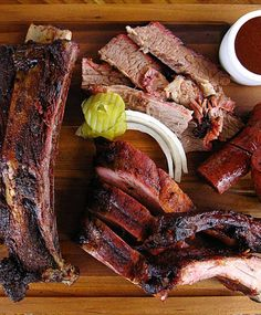 If you eat meat, it's criminal to leave this town without trying its barbecue. Iron Works does it the old-school way—frills-free aside from a few cute checked tablecloths. Beef ribs here are gargantuan and juicy (Jay Leno reportedly has them FedExed to him in California), and the brisket is not to be missed.