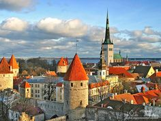Tallin, Estonia.   Has some lovely spots.  Don't think I will revisit