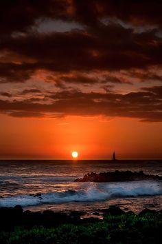 ✯ Sunset - Poipu Beach, Kauai