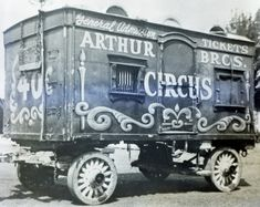 Arthur Bros Circus Ticket Wagon#2 - Times sure have changed.