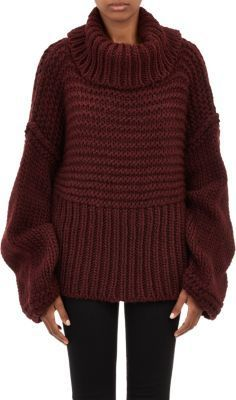 "Acne Studios Oversize Split-Turtleneck ""Gaja"" Sweater on shopstyle.com"