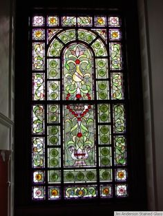 Jim Anderson, Stained Glass Window