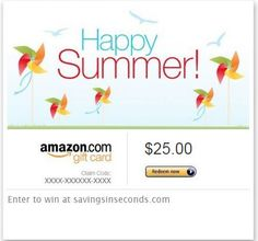 What would you buy with a $25 Amazon gift card? #SummerSweeping   http://www.savingsinseconds.com/what-would-you-buy/  #SummerSweeping #giveaway
