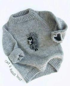 Декор детских свитеров