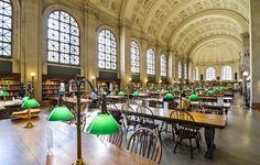 Bibliothèque publique, Boston, États-Unis