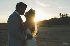 Amazing sunset for this Cabo wedding.