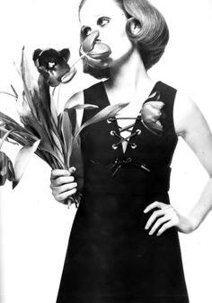 Sue Murray by David Bailey _ Vogue Paris, March 1968.