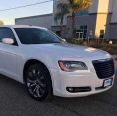 Last on our list, but by no means the least, the White Stretch Chrysler 300C Limousine creates an amazing presence at any event.