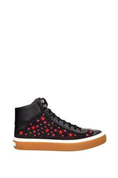 Sneakers Jimmy #Choo #Herren Stoff Schwarz und Mehrfarben 153ARGYLEOLYMPICREDMIX Schwarz 44EU