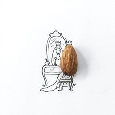 Witty, Miniature Drawings Around Tiny Everyday Objects | Bored Panda
