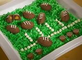 REESE'S Stuffed Football Cookies