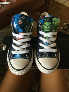 Avengers Marvel Comics Shoes Converse Avengers by ShopWildRose Marvel Fabric, Marvel Shoes, Stylish Little Boys, Expensive Shoes, Kid Shoes, Chuck Taylor Sneakers, Your Shoes, Converse Shoes, Hulk