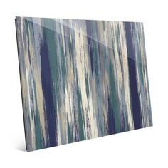 Click Wall Art 'The Forest for the Trees' Print of Painting on Glass Size: