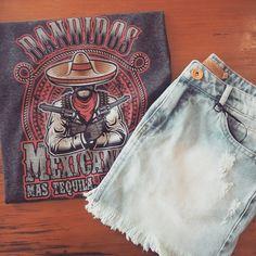 T-shirts tema Mexico da Sly