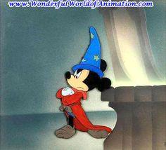 Courvoisier cel from Disney Studios Fantasia (1940)