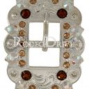 TOPAZ/ CHAMPAGNE/ AB CART BUCKLE