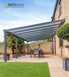 Back Garden Design, Modern Garden Design, Backyard Garden Design, Backyard Landscaping, Outdoor Patio Designs, Outdoor Pergola, Outdoor Rooms, Outdoor Living, Outdoor Decor