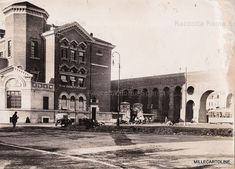 Piazza Lodi-13/1/1932 - il tram