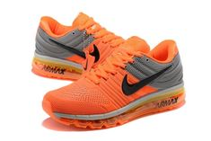 Different Types Of Sneakers Nike Air Max 2, Cheap Nike Air Max, Workout Shoes, Running Shoes For Men, Air Max Sneakers, Orange Sneakers, Shoes Sneakers, Nike Shoes, Athletic Trainer