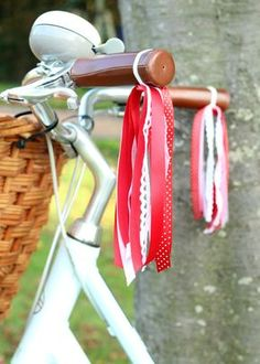 Red-Ribbon-Bicycle-Streamers by Claireabellemakes