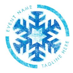 Winter Snow This simple design is perfect for your churches next winter event, tell us about your event and our designers will make this fit perfect for you.