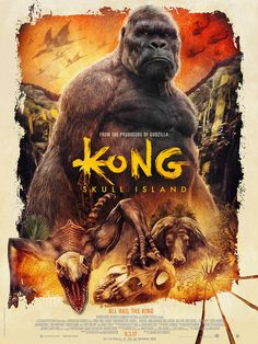 Kong: Skull Island - Created by Rich Davies