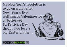 New Year Resolutions Funny ecards   Free Funny ecards & Greeting Cards - Create and send your own funny ...