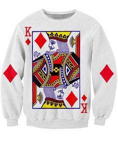 King of Diamonds Crewneck Sweatshirt