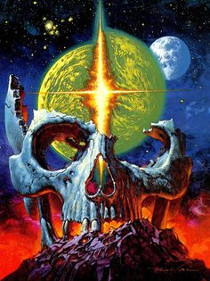 Respected artist Noriyoshi Ohrai died earlier today, reports the Japanese media. You might not know his name, but you should know his work. Arte Alien, Arte Sci Fi, Space Ghost, Fantasy Kunst, Fantasy Art, Art Pulp, Sci Fi Kunst, Science Fiction Kunst, Art Noir