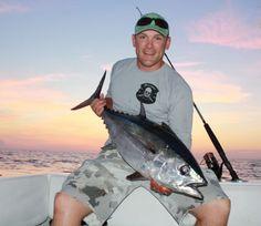 Walter Shellabarger with a Big Bimini Blackfin