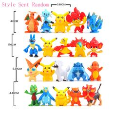 5pcs Hot Sale Anime PVC Pickachu Elves Figure Toys Pocket Dolls Best Gifts Collective Cartoon Cute Collections DIY Toys #Affiliate