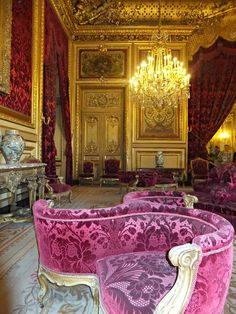 The Louvre, Paris, France | The imperial apartments of Napoleon III