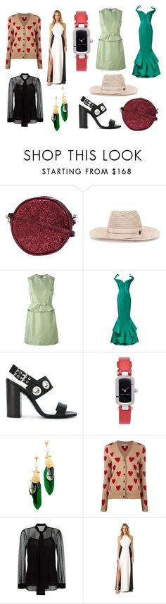 """Zodiac sign is Style"" by donna-wang1 ❤ liked on Polyvore featuring Zilla, Maison Michel, RED Valentino, Zac Posen, Diesel, Marc Jacobs, Gas Bijoux, Burberry, MICHAEL Michael Kors and Halston Heritage"